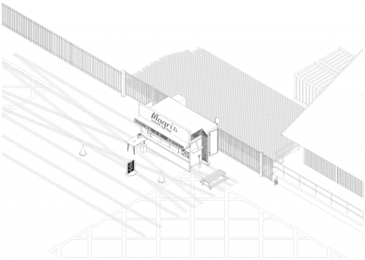 Site Study, London City Airport by Aya Fibert Studio 8